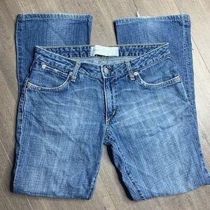 PAPER DENIM & CLOTH | Ripped Bootcut Jeans X20
